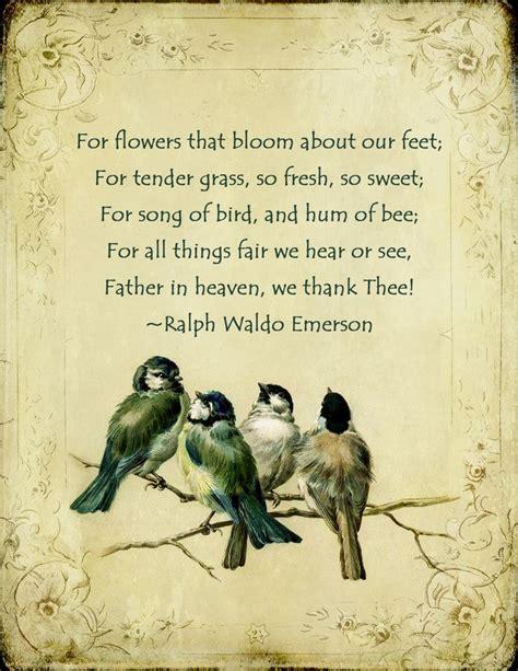 printable ralph waldo emerson quotes garden poems and quotes quotesgram