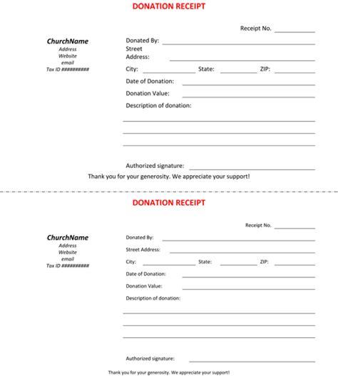 45 Free Donation Receipt Templates Formats Docx Pdf Donor Receipt Template