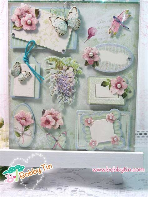 D Stickers For Card Making - dimensional stickers floral 3d stickers scrapbooking card making