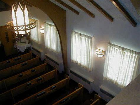 church window coverings school church drapery