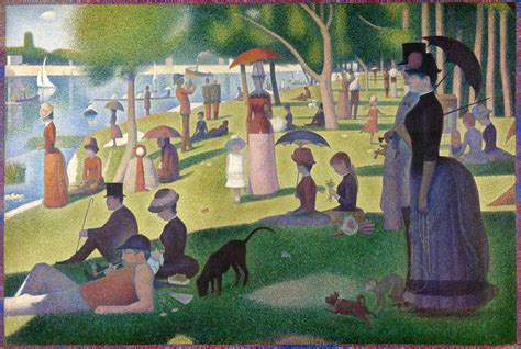 georges seurat most famous paintings file a sunday on la grande jatte georges seurat 1884 jpg