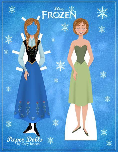 printable frozen dolls paper dolls frozen fan art 35071476 fanpop