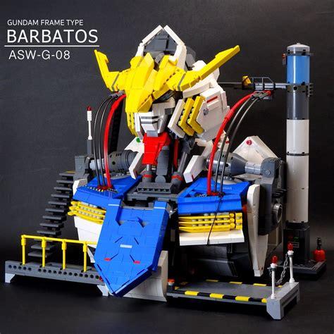 Mainan Lego Gundam 1 jan utyo s lego gundam barbatos scratch build bust