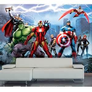 Spiderman Wall Murals papier peint xxl equipe avengers marvel papier peint sur
