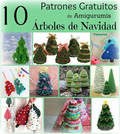 10 patrones gratuitos de 193 rboles de navidad en amigurumi