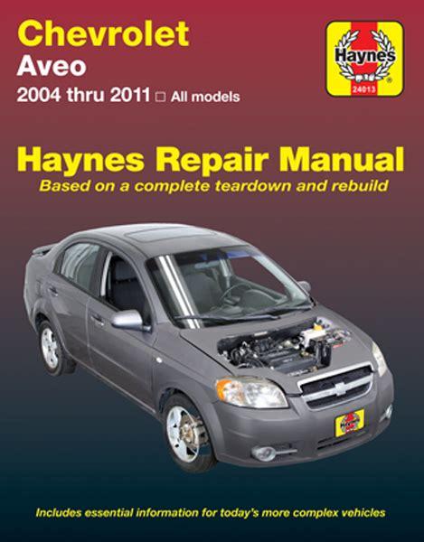 motor repair manual 2008 chevrolet aveo regenerative braking chevrolet aveo haynes repair manual 2004 2011 hay24013