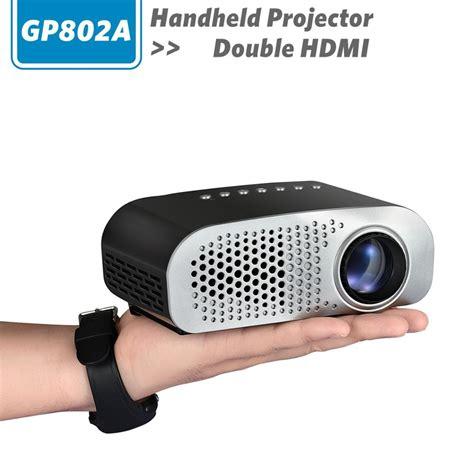 Mainan Anak Story Projector mini portable projector led 100 lumens 480 x 320 pixel gp802a white jakartanotebook
