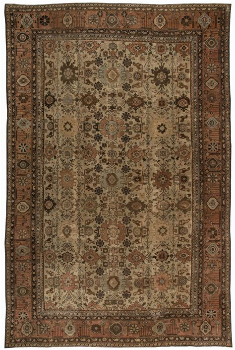 antique rugs nyc sultanabad rugs allover rugs by dlb new york