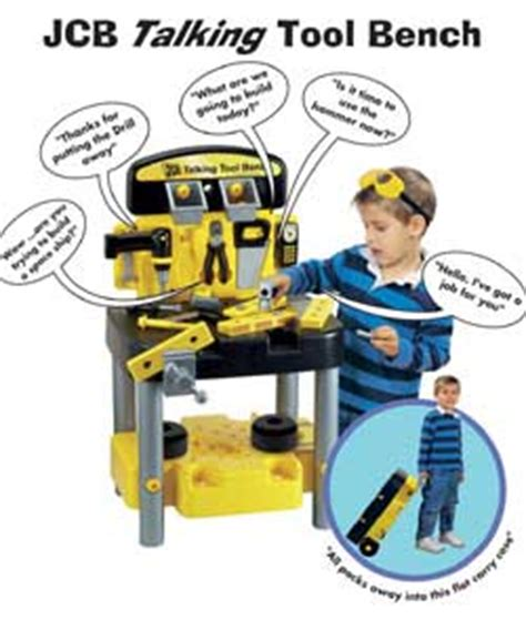 jcb tool bench jcb talking tool bench role play toy review compare