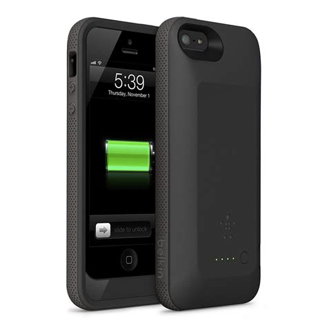 Casing Iphone 5 Electrical Black G51299bk belkin f8w292ttc00 grip power battery for iphone 5 black ca cell phones