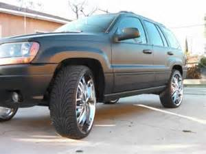 jeep grand on 24s flat black