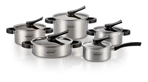 Happy Call Stainless 1 Set happycall 10pc stainless steel pot set happycall usa