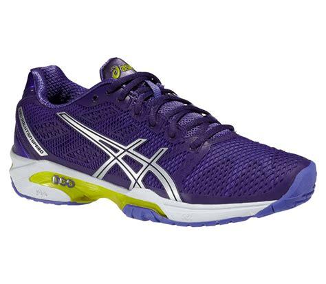 asics gel solution speed 2 womens tennis shoes purple