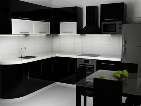 imagenes de uñas negras con blanco cocinas blancas y negras 50 ideas geniales a considerar