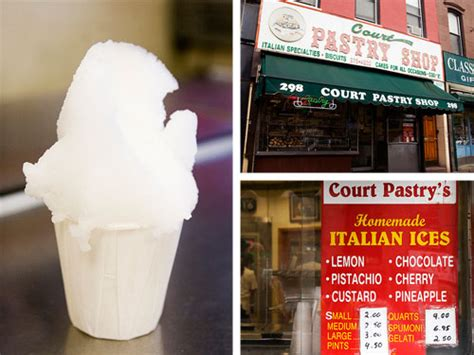 nyc italian ice  eats
