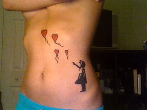 girl with balloon tattoo balloon images designs