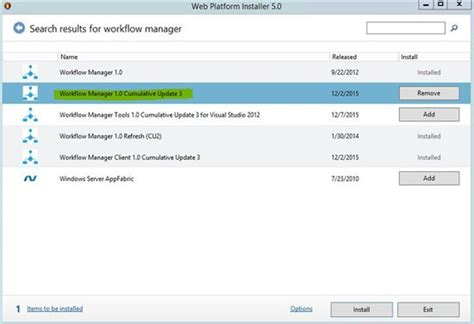 sharepoint 3 0 workflow sharepoint 2016 apply cu3 to workflow manager 1 0 cu2