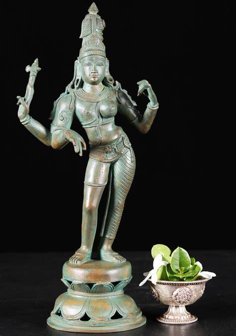 Classix Statue sold bronze classic shiva as andhanari statue 14 quot 91b60 hindu gods buddha statues