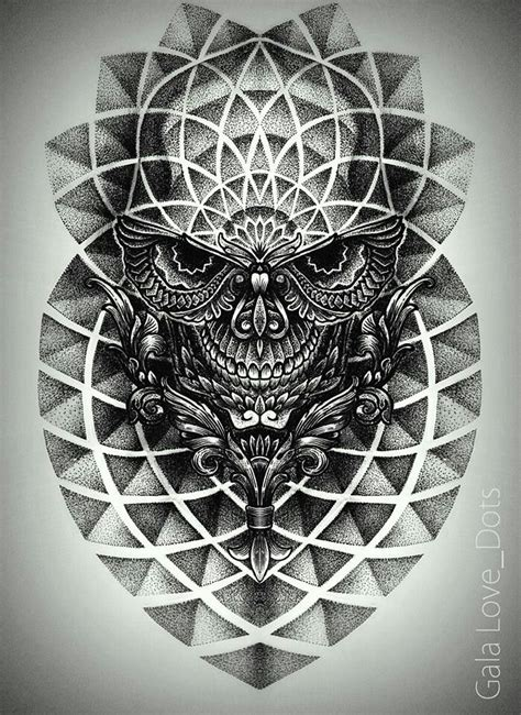 tattoo geometric background 121 best images about dots on pinterest negative space