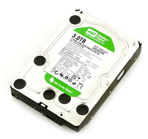 Wdc 4tb Green 3 5 Quot western digital wd30ezrs sata ii 3tb 5400rpm drives