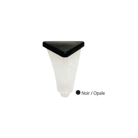 trajectoire eclairage diffuseur polycarbonate opale chapeau noir pour 233 clairage