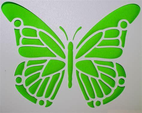 schablone wandmalerei schmetterling schablone gr 252 n 183 kostenloses foto auf pixabay
