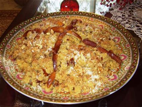 cuisine tunisienne en vid駮 recette mahkouka dessert tunisien