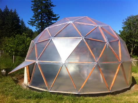 pictures of a build it yourself pvc dome greenhouse the easydome system a diy biodome geodesic greenhouse