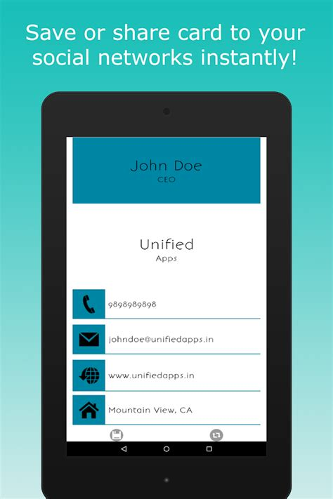 app to make business cards business card maker android apps on play