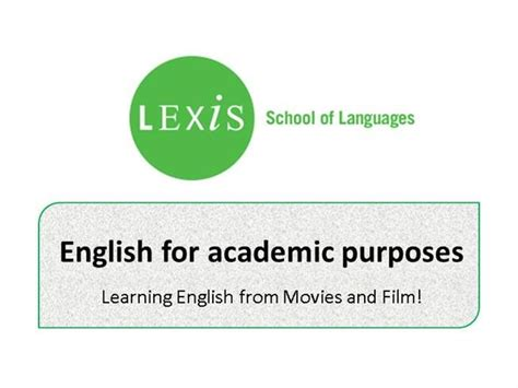 For Academic Purposes A Successful Way To Learn Scientific for academic purposes learning from