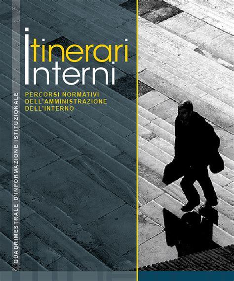 rivista interni rivista itinerari interni ministero dell interno