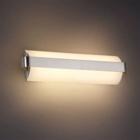 modern bathroom lighting demi led bath bar by modern forms modern bathroom