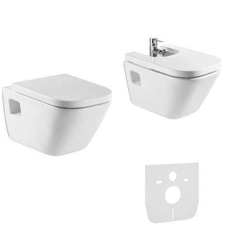 zestaw bidet i wc roca gap zestaw miska wc bidet deska a346477000
