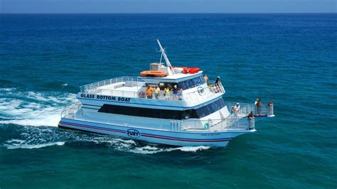 glass bottom boat tours in key west key west glass bottom boat tours fury water adventures