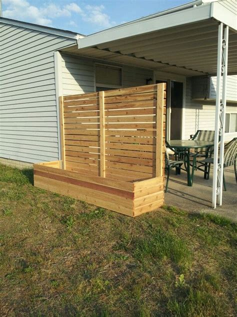 Privacy Planter by Raised Bed Planter Fence Privacy Screen This Is Now
