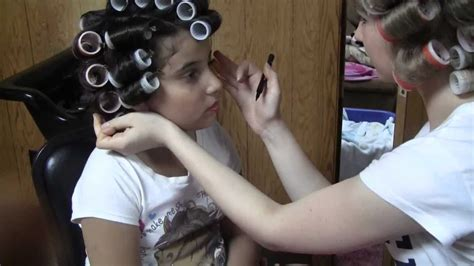 demaled sissies in dresses and hair curlers sissy boy in hair rollers newhairstylesformen2014 com
