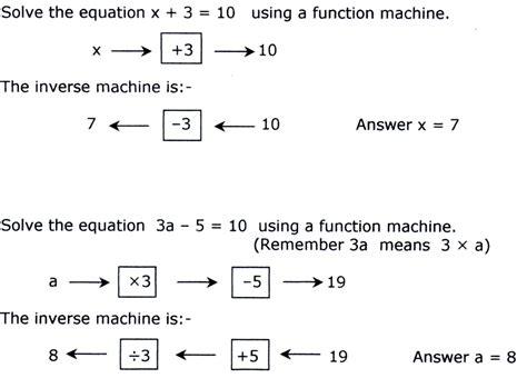 solving algebraic equations ks3 algebra part two ks 3