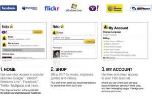the fido mobile portal add ons shop fido ca