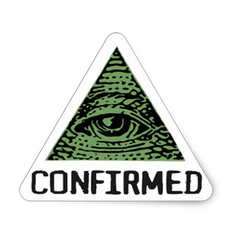 illuminati triangle illuminati confirmed stings triangle sticker zazzle