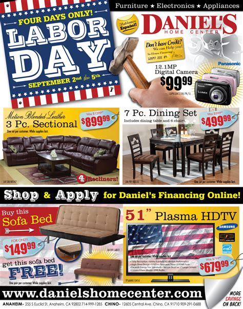 labor day couch sale a furniture store labor day sale ad 2011 designed by a