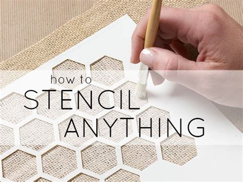 stencil tutorials learn how to learn how to stencil and stenciling tips plaid online
