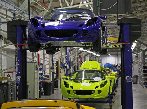 car factory steps in the car manufacturing process