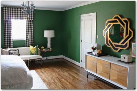 hunter green bedroom walls a quiz on color commitment it s emerald city in blogland