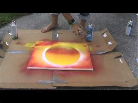 spray paint how to for beginners spray paint sunset
