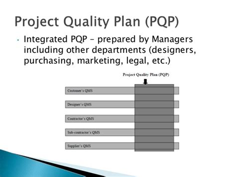 contractor quality plan template construction quality management plan construction