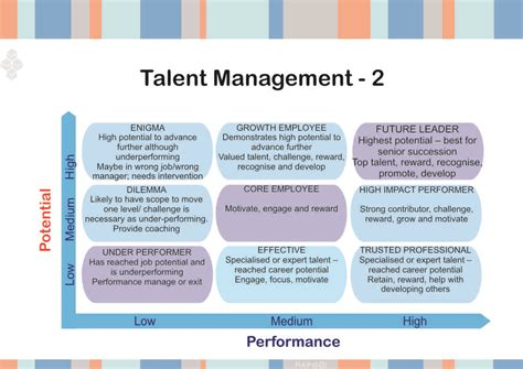 tool for identifying retaining key talent in