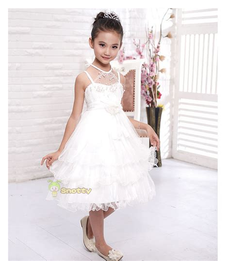 10 year old girls birthday dresses wholesale ball gown wedding dresses lace white fancy girls