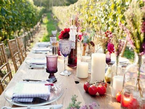 apparecchiare tavola in giardino apparecchiare la tavola in giardino casalinghi