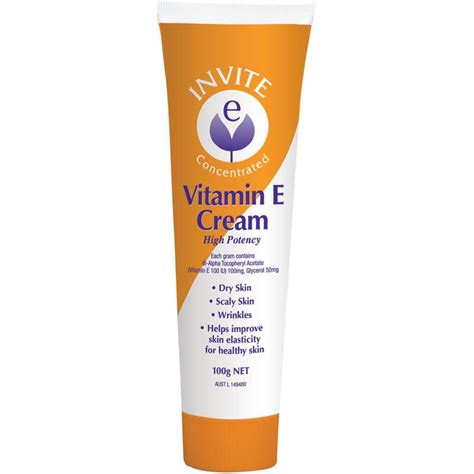 tattoo cream chemist warehouse buy invite e vitamin e cream 100g online at chemist warehouse 174