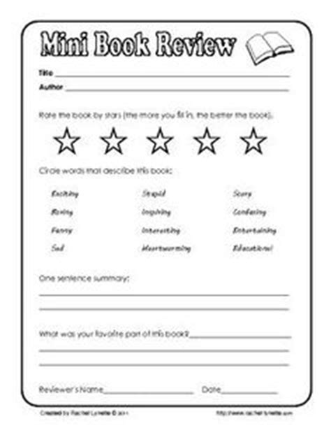 printable book review template ks1 pics for gt book review template for kids
